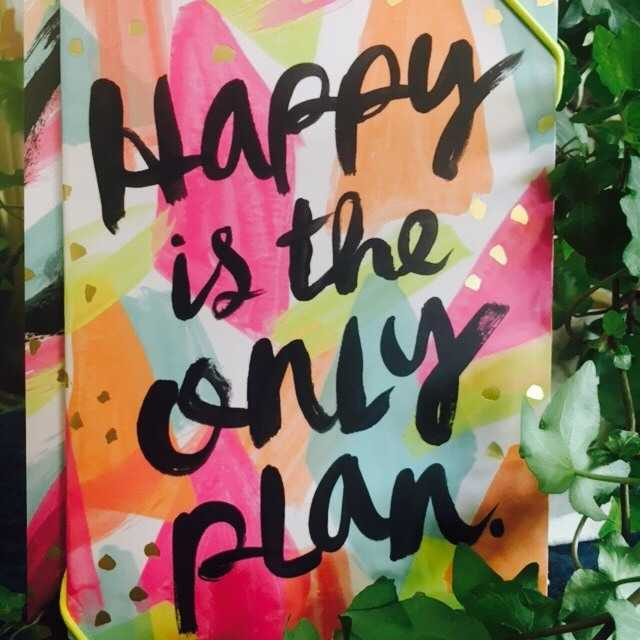 Happy is the Only Plan Journal Set
