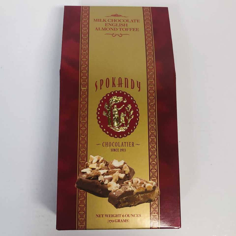Milk Chocolate English Almond Toffee